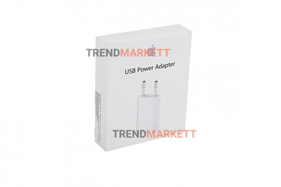 Сетевое зарядное устройство Apple USB Power Adapter (MD813ZM/A)