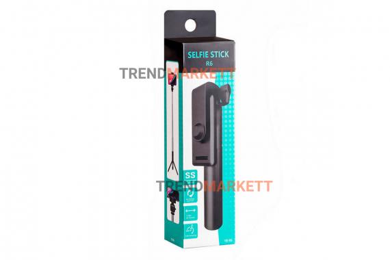 Монопод трипод для смартфона R6 с BLUETOOTH пультом, от 20 см до 70 см