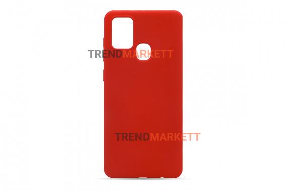 Чехол для Samsung M31s «Silicone Cover» красный