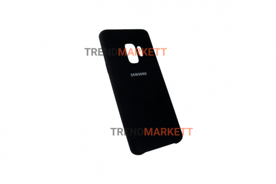 Чехол для Samsung S9 «Silicone Cover» черный