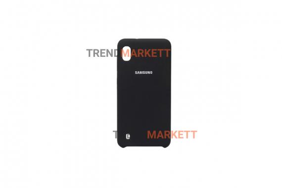 Чехол для Samsung A01core «Silicone Cover» черный