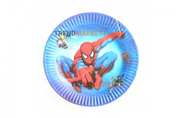 Тарелка бумажная «Человек-паук» 10 шт.