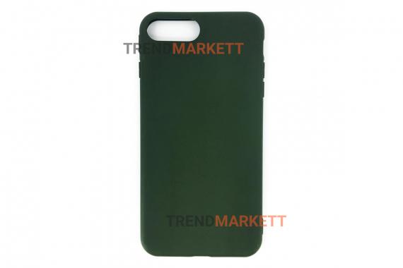 Силиконовый чехол (Silicon case) для iPhone 7 PLUS/8 PLUS Хаки