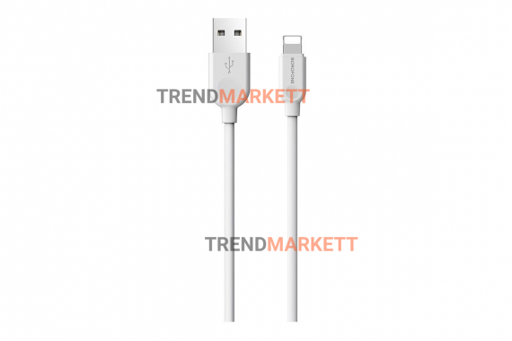 Кабель USB - Type-C «Borofone BX17» 1 м., белый