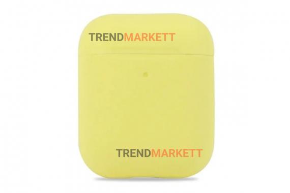 Чехол для AirPods 1/2 Smart Case Mellow Yellow