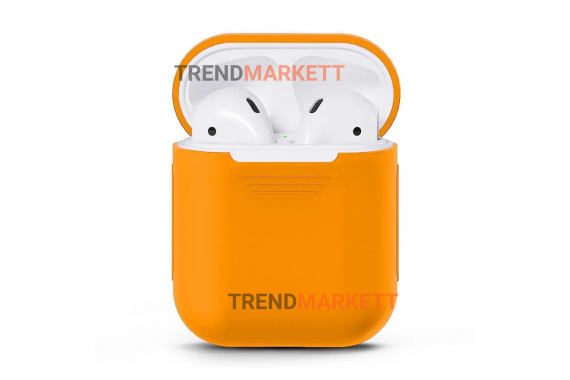 Чехол для AirPods 1/2 Smart Case Peach