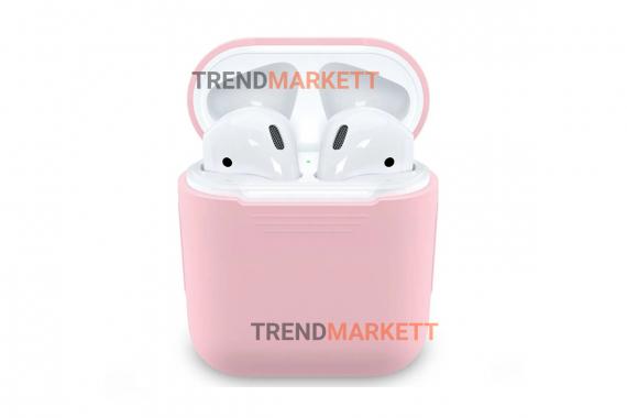 Чехол для AirPods 1/2 Smart Case Pink