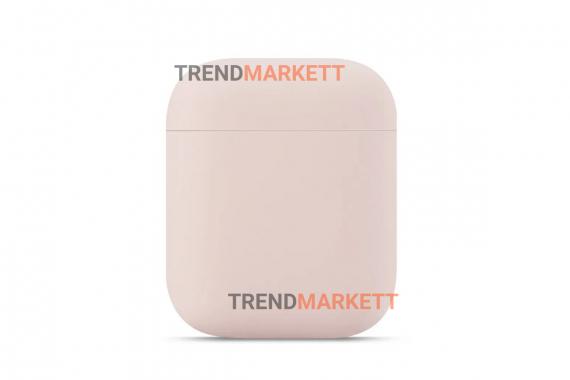 Чехол для AirPods 1/2 Smart Case Pink Sand