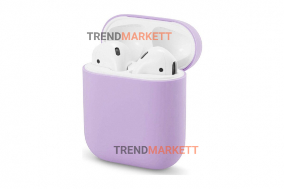 Чехол для AirPods 1/2 Smart Case Purple