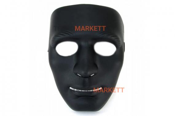 Маска «Лицо» черная