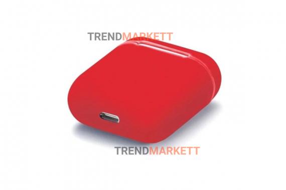Чехол для AirPods 1/2 Smart Case Red