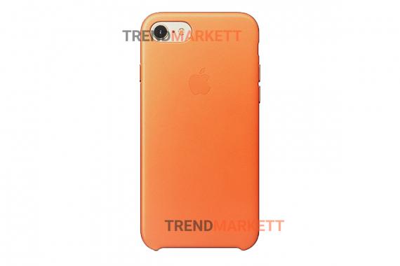 Силиконовый чехол (Silicon case) для iPhone 7/8 Оранжевый