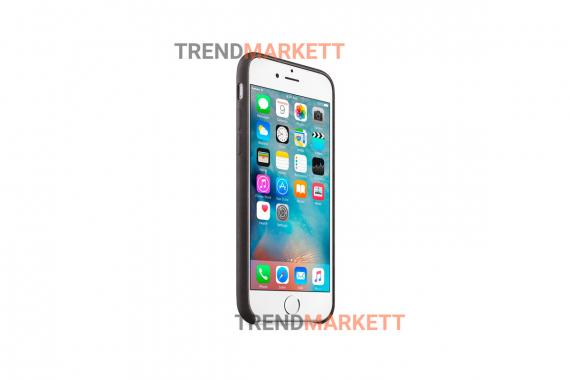 Силиконовый чехол (Silicon case) для iPhone 7/8 Черный