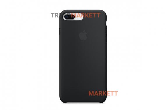 Силиконовый чехол (Silicon case) для iPhone 7 PLUS/8 PLUS Черный