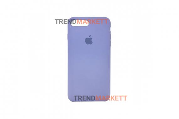 Силиконовый чехол (Silicon case) для iPhone 7 PLUS/8 PLUS Лавандовый