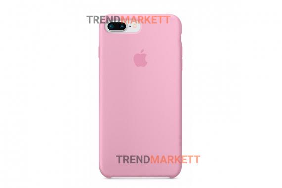 Силиконовый чехол (Silicon case) для iPhone 7 PLUS/8 PLUS Розовый