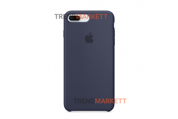 Силиконовый чехол (Silicon case) для iPhone 7 PLUS/8 PLUS Синий