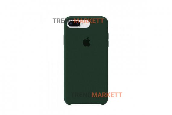 Силиконовый чехол (Silicon case) для iPhone 7 PLUS/8 PLUS Зеленый