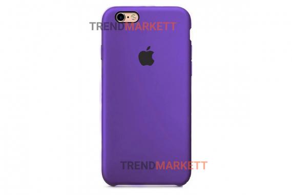 Силиконовый чехол (Silicon case) для iPhone 6/6S Фиолетовый