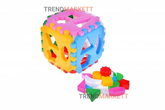 Развивающий кубик для малышей «Любимая игрушка»