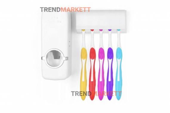 Автоматический дозатор для зубной пасты Toothpaste dispenser TM-2000