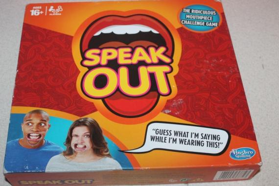 Настольная игра «Speak Out Выговорись»