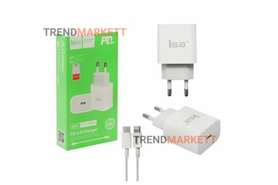 Сетевое зарядное устройство «ISA HS9»