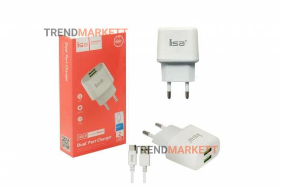 Сетевое зарядное устройство «ISA HS10»