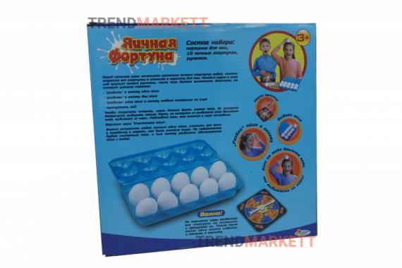 Настольная игра «Яичная фортуна»