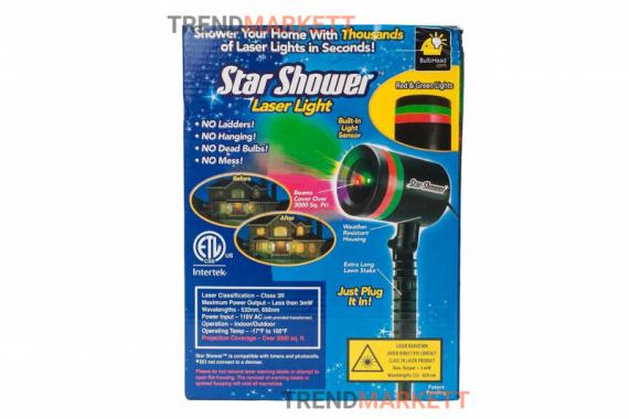 Звездный проектор «Star Shower Laser Light»