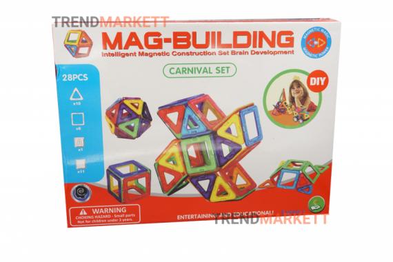 Конструктор магнитный «MAG-BUILDING»