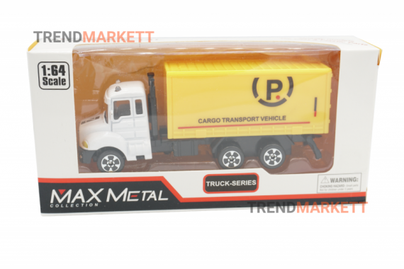 Металлический грузовик «MAX METAL ГРУЗОВИК»
