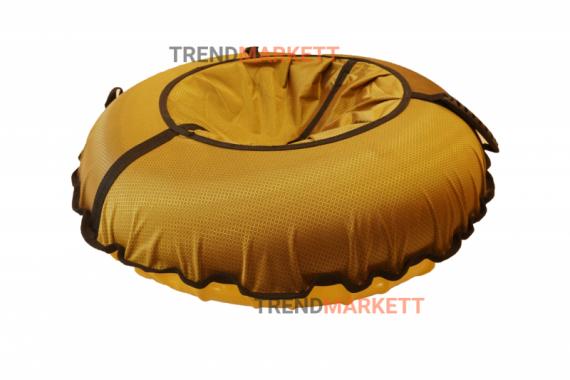 Тюбинг-ватрушка желтый 90 см.
