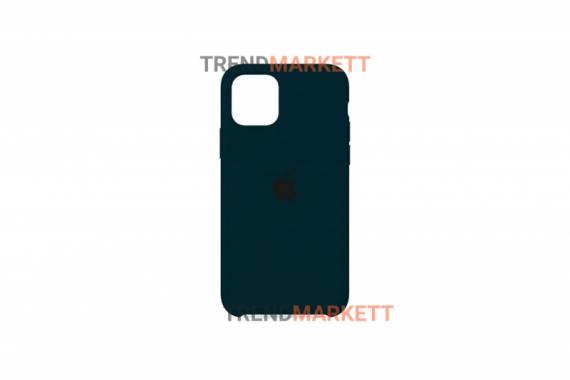 Силиконовый чехол (Silicon case) для iPhone 11 PRO MAX Хаки