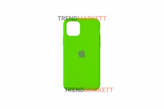 Силиконовый чехол (Silicon case) для iPhone 11 PRO Салатовый