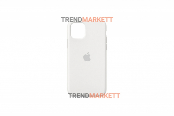 Силиконовый чехол (Silicon case) для iPhone 12/12 PRO Белый