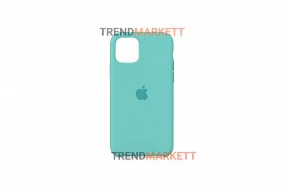 Силиконовый чехол (Silicon case) для iPhone 11 PRO Голубой
