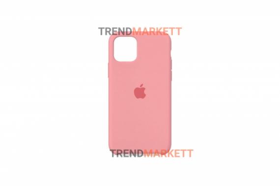 Силиконовый чехол (Silicon case) для iPhone 12/12 PRO Розовый