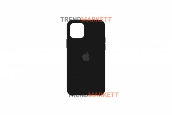Силиконовый чехол (Silicon case) для iPhone 11 PRO MAX Черный