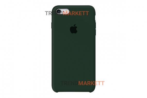 Силиконовый чехол (Silicon case) для iPhone 7/8 Хаки