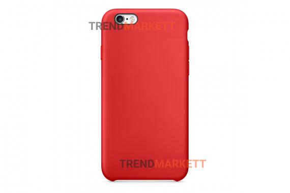Силиконовый чехол (Silicon case) для iPhone 6 PLUS/6S PLUS Красный