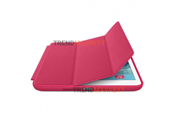 Чехол для iPad 2/3/4 Smart Case малиновый