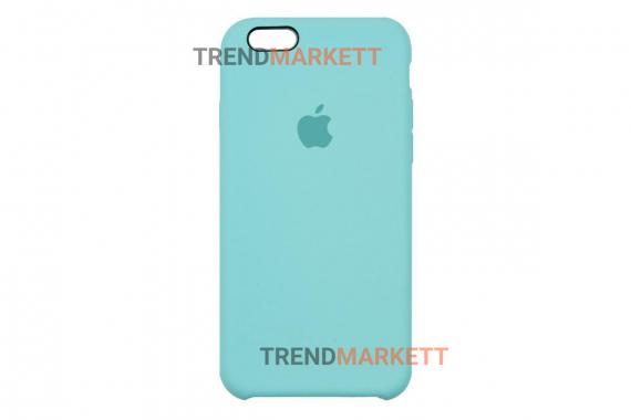Силиконовый чехол (Silicon case) для iPhone 6 PLUS/6S PLUS Мятный