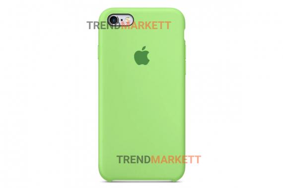 Силиконовый чехол (Silicon case) для iPhone 6 PLUS/6S PLUS Салатовый