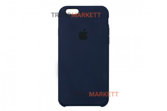 Силиконовый чехол (Silicon case) для iPhone 6/6S Синий