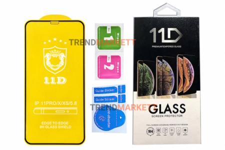 Защитное стекло на iPhone X/XS/11 Pro 11D
