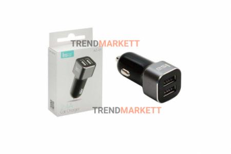 Автомобильное зарядное устройство «ISA AZ-01» 2 USB