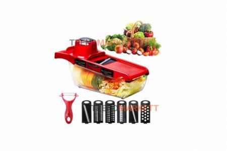 Терка для овощей и фруктов 6 в 1