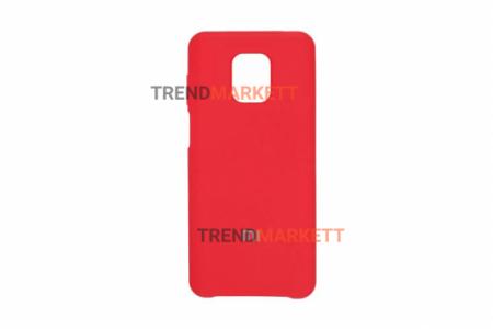 Чехол для Redmi note 9Pro/9S/9Pro Max «Silicone Cover» красный