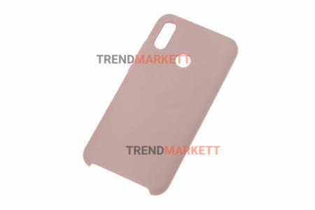 Чехол для Huawei P Smart 2019/Honor 10 Lite 2019 «Silicone Cover» пудра